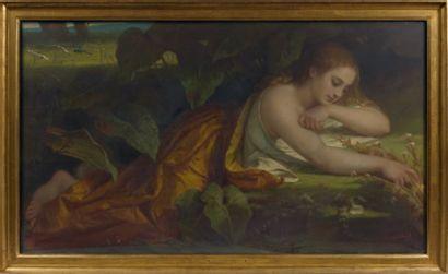 Attribué à Charles Laurent MARECHAL (1801-1887)