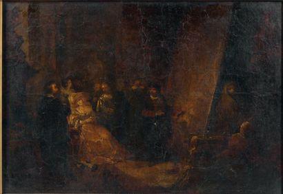 ÉCOLE FLAMANDE, dans le goût du XVIIe siècle