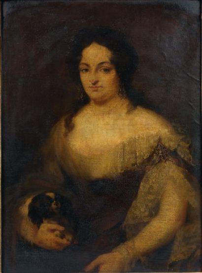 ÉCOLE ITALIENNE du XIXe siècle, dans le goût du XVIIIe siècle