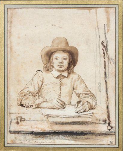 Samuel van HOOGSTRATEN (Dordrecht 1627-id. 1678)