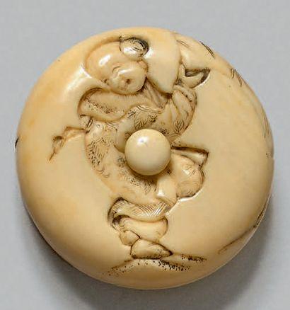 JAPON - Milieu de l'époque Edo (1603-1868)