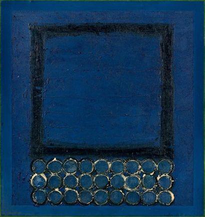 JOHN HARRISON LEVEE (1924-2017) July I Technique mixte sur toile, signée et datée...