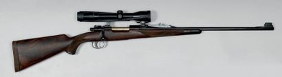 Carabine à verrou Francotte, calibre 375...