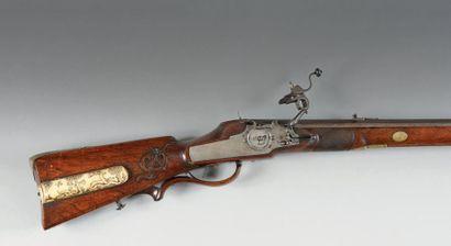 Arquebuse à rouet extérieur, calibre 15 mm....