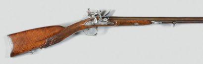 Fusil de chasse double à silex de «Chaillot»,...