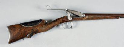 Fusil de chasse double à système Pauly, à...