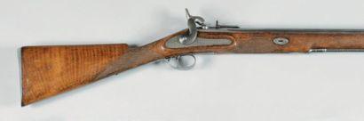 Fort fusil à percussion stéphanois, calibre...