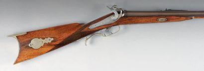 Fusil de chasse mixte à percussion de «J....