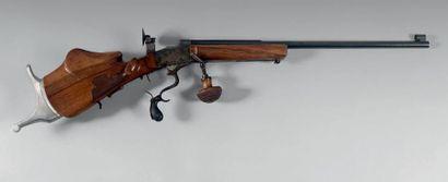 Importante carabine de tir de compétition...