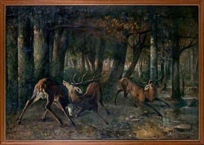 D'après Gustave COURBET