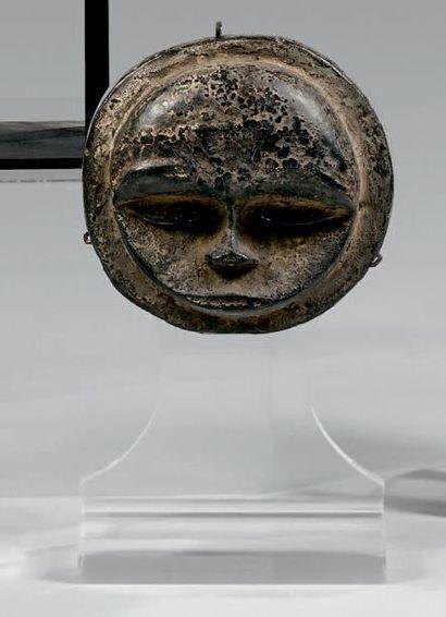 Masque Ibibio Eket, Nigeria. Bois à patine...
