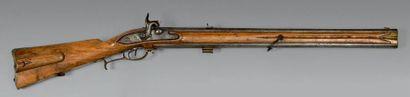Carabine autrichienne de chasseur, à silex...