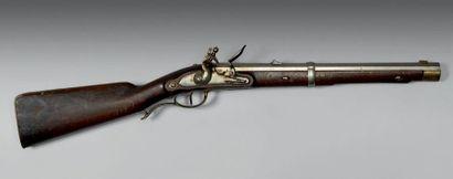Mousqueton réglementaire de cavalerie à silex...
