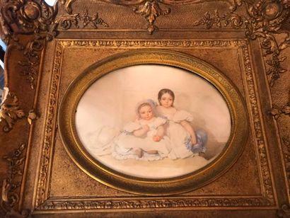 Grande miniature, XIXème siècle.