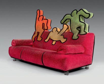 D'apres Keith Haring