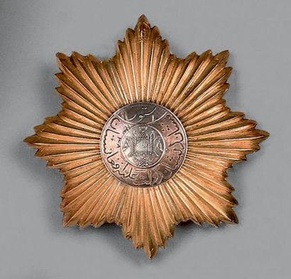 Afghanistan, Ordre de l'Étoile, plaque de...