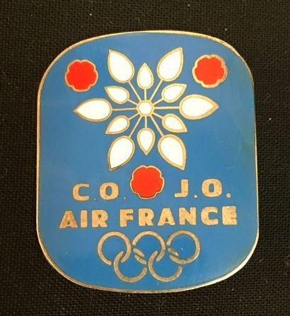 Xe Jeux Olympiques d'hiver de Grenoble 1968,...