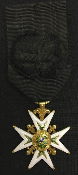 Ordre de Saint-Michel, fondé par Louis XI...