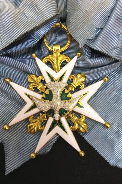 Ordre du Saint-Esprit, fondé par Henri III...
