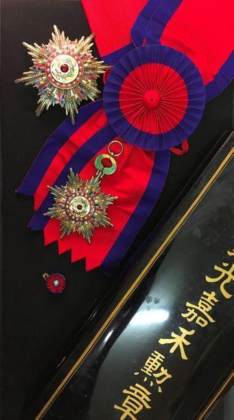 Chine, République - Ordre du précieux brillant...