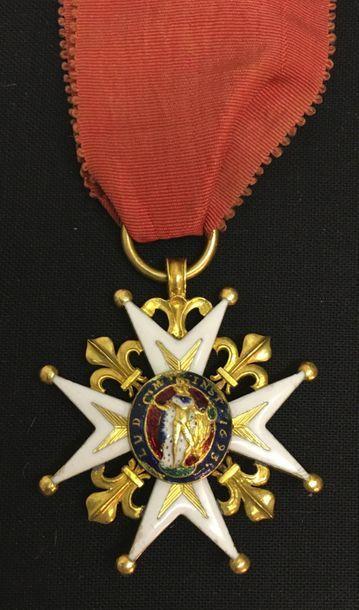 Ordre de Saint-Louis, fondé par Louis XIV...
