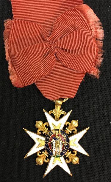 Ordre de Saint-Louis - Restauration, croix...