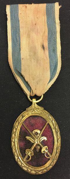 Médaillon de Vétérance, créé par Louis XV...