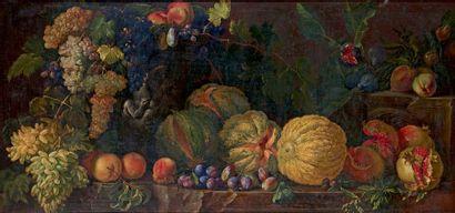 Entourage d'Abraham BRUEGHEL (1631-1690)