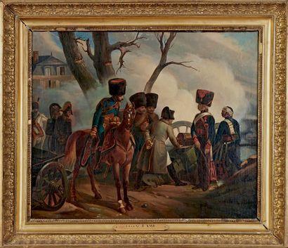 D'après Eugène LAMI, école française du XIXe siècle