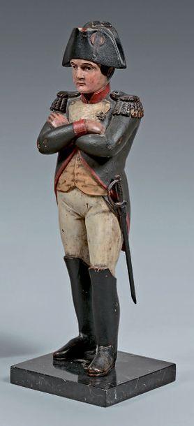 L'Empereur Napoléon Ier en pied, en uniforme...