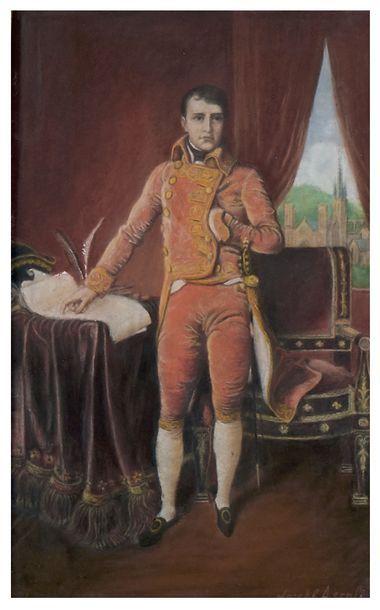Joseph ASCOLI, école française de la fin du XIXe siècle, d'après Ingres