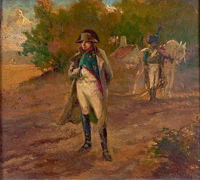 ÉCOLE FRANÇAISE de la fin du XIXe siècle, entourage de PEYRBOYRE