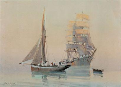 MARIN-MARIE (Marin Marie Paul Emmanuel DURAND COUPPEL de SAINT-FRONT, 1901-1987, dit)
