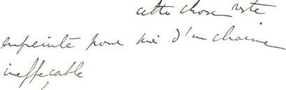 PROUST (Marcel) Lettre autographe signée «Marcel». S.l., [15 juin 1905, d'après une...