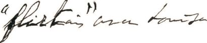 PROUST (Marcel) Lettre autographe signée «Marcel». S.l., [date de réception du 25...