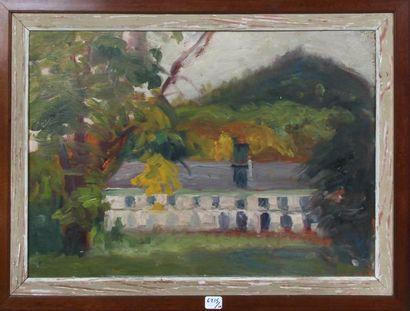Georges Le MEILLEUR (1861-1945) Maison de Georges Le Meilleur à Amfreville la Mivoie...