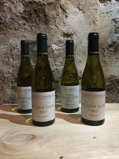 12 demi-bouteilles Petit Chablis, William...
