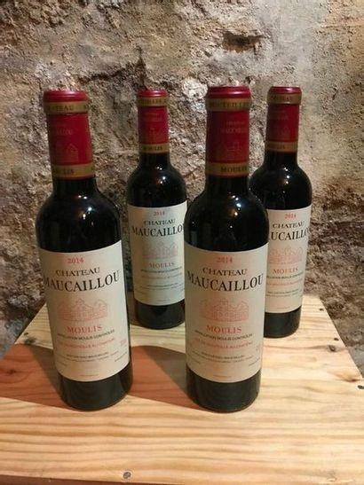 6 demi-bouteilles Château Maucaillou, Moulis,...