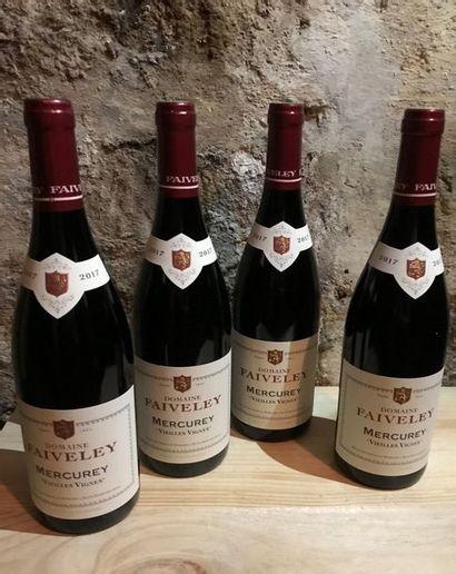 12 B. Mercurey, vieilles Vignes, Domaine...