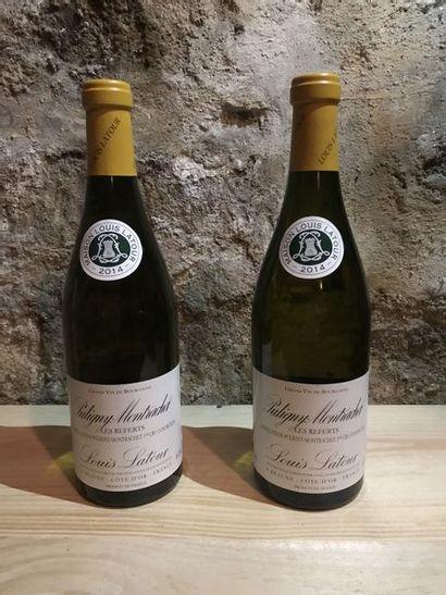 6 B. Puligny Montrachet, Louis Latour, blanc 2014