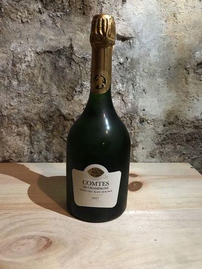 2 B. Comtes de Champagne, blanc de blanc...