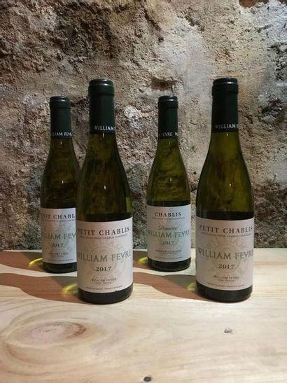 13 demi-bouteilles Petit Chablis, William...