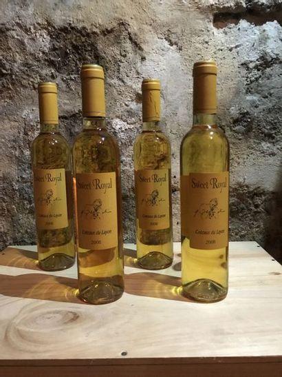 6 demi-bouteilles Sweet Royal, Coteaux de Layon, 2008
