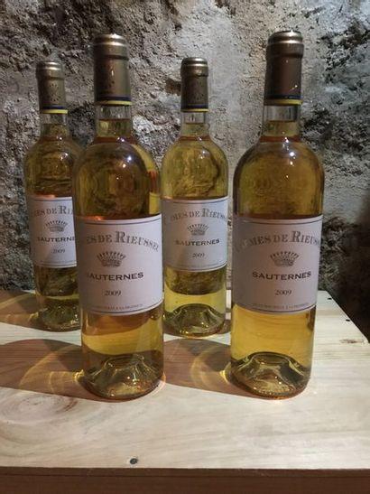 9 B. Sauternes Carmes de Rieussec, 2009