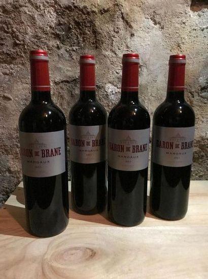 12 B. Baron de Brane, Henri Lurton, Margaux,...
