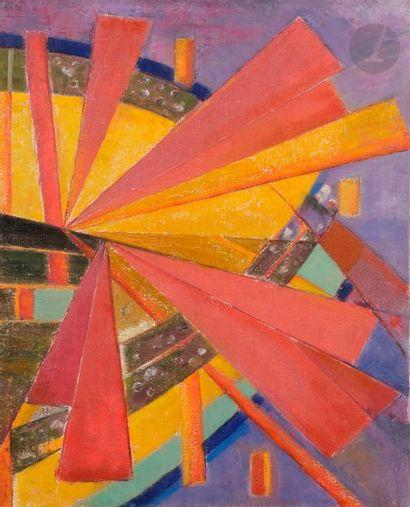 Maurice Henri GAUDEFROY (1883-1972) Composition...