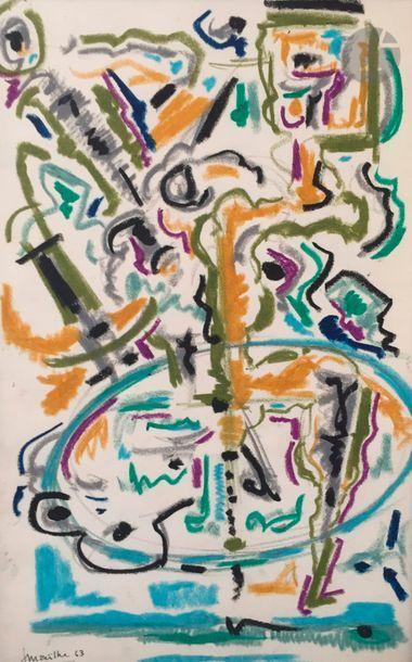 Jean MAILHE (1912-1997) Compositions, 1962-63...