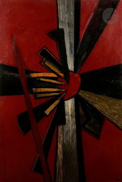 Jean PIAUBERT (1900-2002) Composition dynamique,...