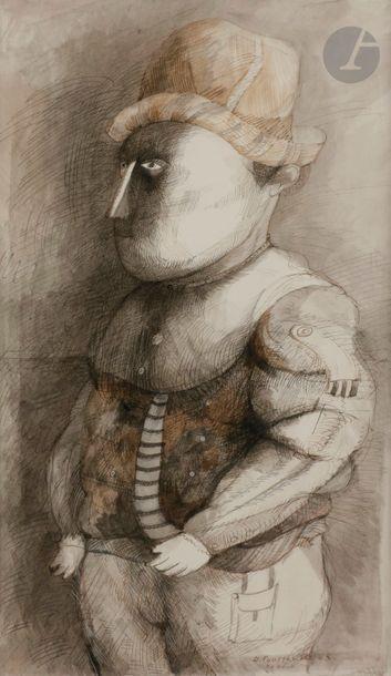 Denis POUPPEVILLE (né en 1947) Ferdinand,...