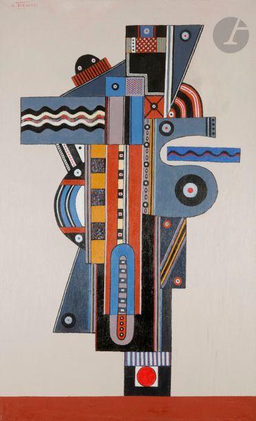 Georges TERZIAN (né en 1939) Le Baron, 2006...